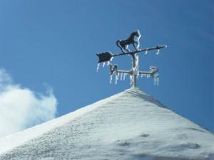icy-weather-vane