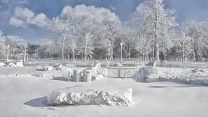 Winter Niagara Falls